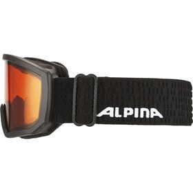 Alpina Scarabeo Doubleflex S2 Lunettes de protection Enfant, black